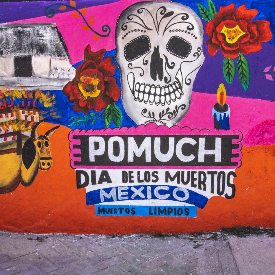 Los dia de los muertos en Pomuch<br><div style=